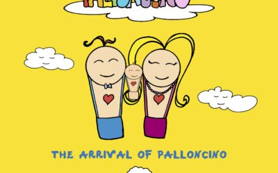 """Inspirational books for kids """"The travels of Palloncino"""""""